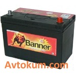 Аккумулятор  Banner Power Bull 45 L+ BANP4524PB