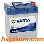 Аккумулятор Varta Blue Dynamic   40 R+  A14 540 126 033