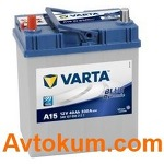 Аккумулятор Varta Blue Dynamic  40 L+ A15 540 127 033