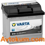 Аккумулятор Varta Black Dynamic  45 R+ B19 545412040