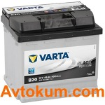 Аккумулятор Varta Black Dynamic  45 L+ B20 545413040