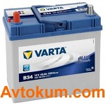 Аккумулятор Varta Blue Dynamic  45 L+  B34 545 158 033