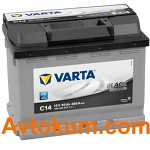 Аккумулятор Varta Black Dynamic 56 R+ C14 556400048