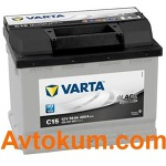 Аккумулятор Varta Black Dynamic  56 L+ C15 556401048