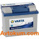Аккумулятор Varta Blue Dynamic  60 L+  D43 560127054