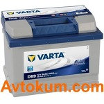 Аккумулятор Varta Blue Dynamic  60 R+ D59 560409054
