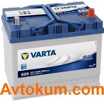 Аккумулятор Varta Blue Dynamic  70 R+  E23 570412063