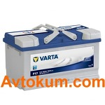 Аккумулятор Varta Blue Dynamic  80 R+ F17 580406074