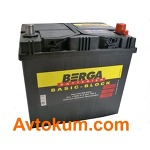 Аккумулятор  Berga Basic Block azia 60 R+ 560412051